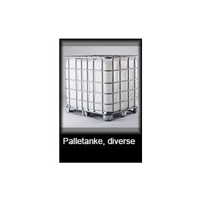 Palletanke, gødningskar, silo og tillbehør, diverse