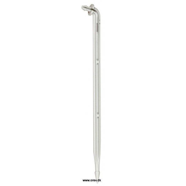 Dryp-pind 5*3 grå lang vinkel