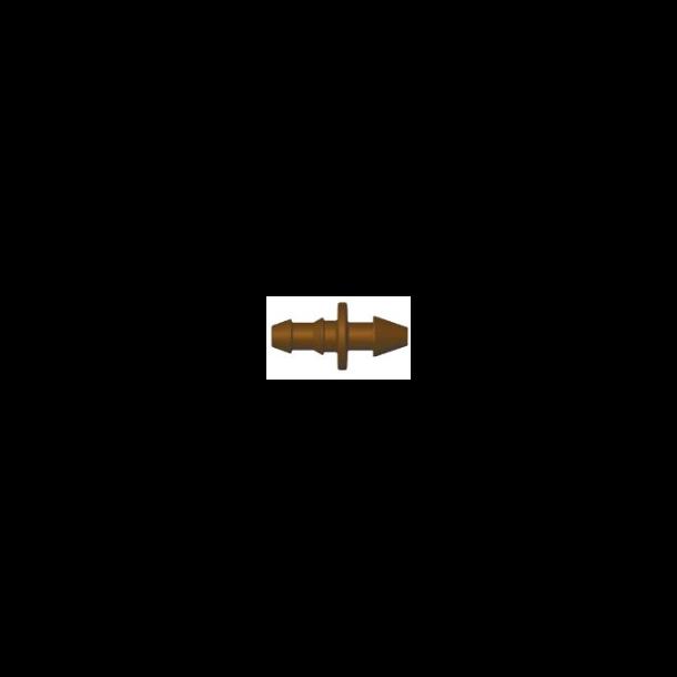Samlestykke 5 mm brun