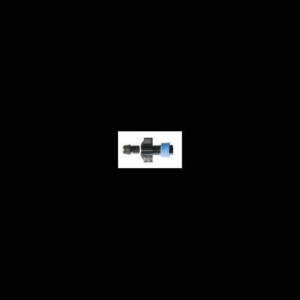 Start-forbinder gevind-møtrik 16 mm m.ring /100 pose
