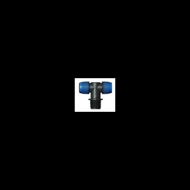 Flare-tee 16x½