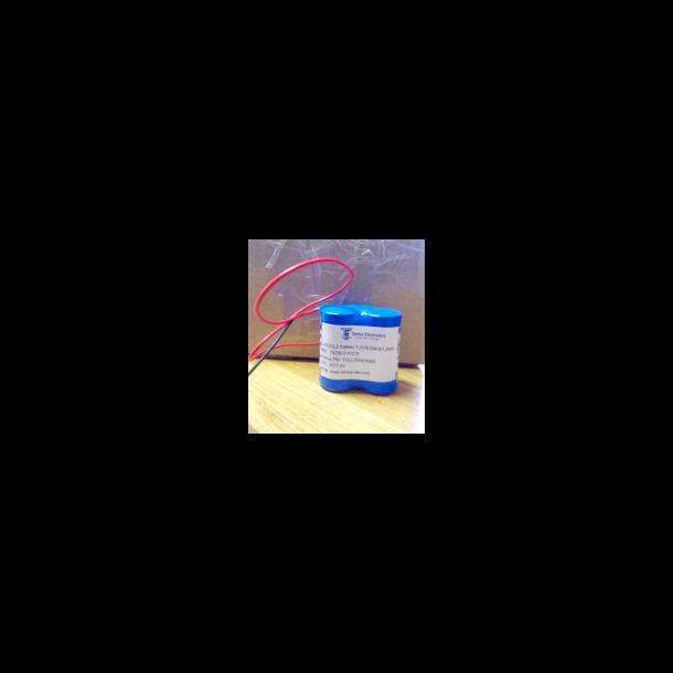 Batteri Lithium 7.2 V 9AH 500MA