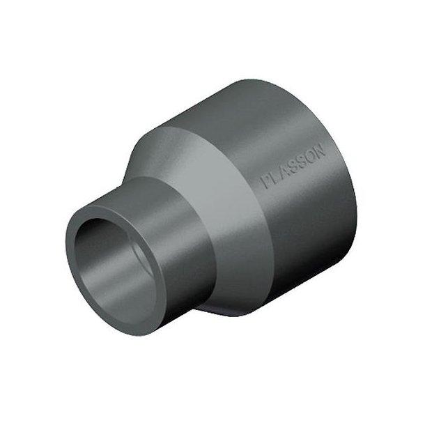 Overgang PVC 90x75x63 mm SPxMF