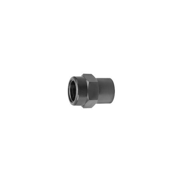 Overgang PVC 40x50x11/4