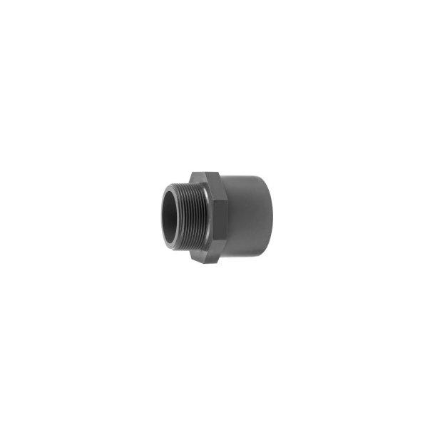 Overgang PVC 40x50x1½