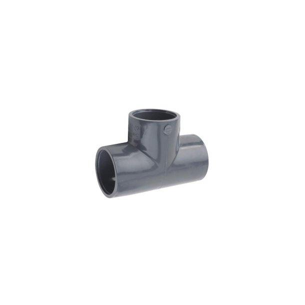 Tee PVC 63 mm 90 GR.