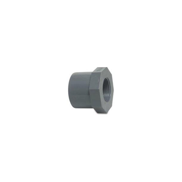 Overgang PVC 25x3/8