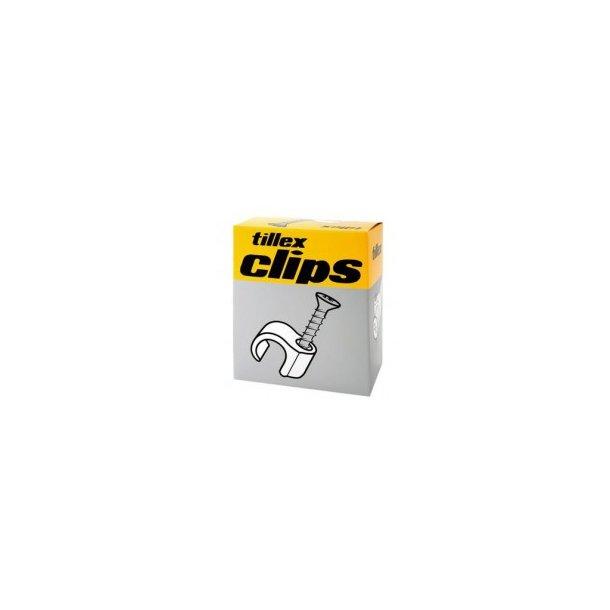 El-Clips 14-18 mm grå