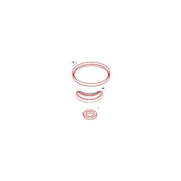MIX-RITE Tefen TF-25 tætninger-sæt 0,2%-2,5%
