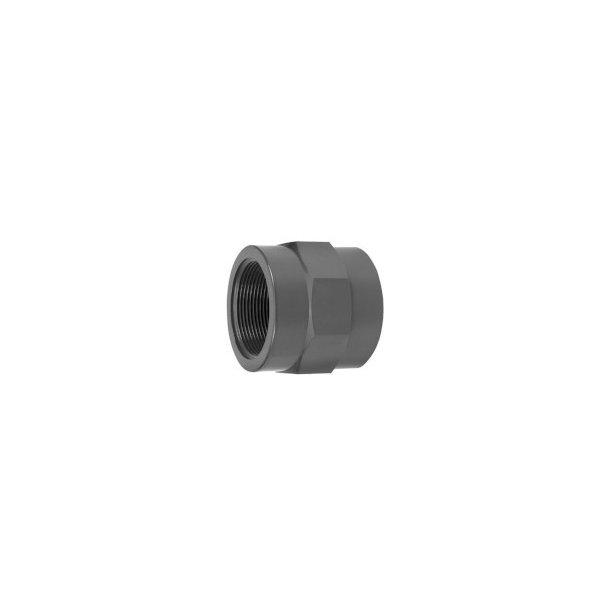Overgang PVC 50x1½
