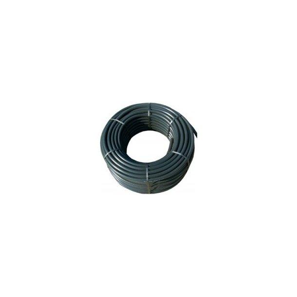 PE-rør 20/4 mm- 100 m sort