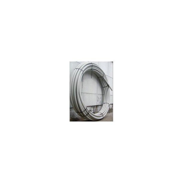 PEL-rør 40/5 mm- 100 m grå