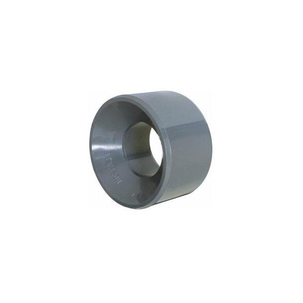 red. bøsning PVC 125-75 mm