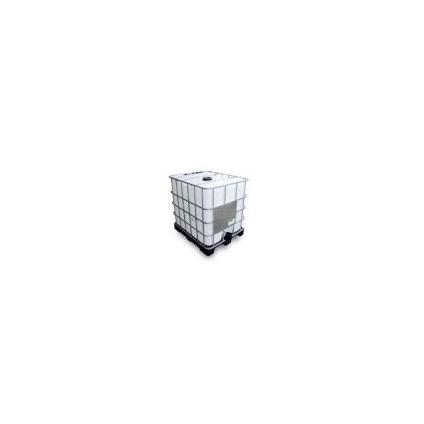 gødningskar container 1050 l. sort inkl. adap.