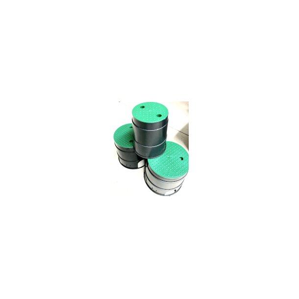 Ventil-boks til landskab Ø212x160mm H=230mm